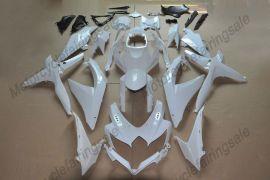 Suzuki GSX-R 600/750 2008-2010 K8 Injection ABS Unlackiert verkleidung - Weiß
