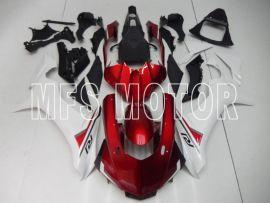 Yamaha YZF-R1 2015-2020 Einspritz-ABS-Verkleidung - Andere - Weiß / Rot