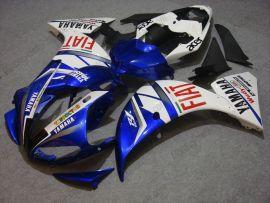 Yamaha YZF-R1 2009-2011 Injection ABS verkleidung - FIAT - Blau/Weiß