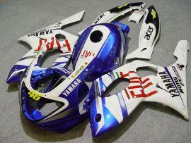 Yamaha YZF-600R 1994-2007 ABS verkleidung - FIAT - Weiß/Blau