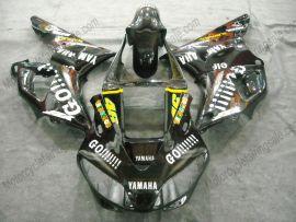 Yamaha YZF-R1 1998-1999 Injection ABS verkleidung - GO!!!!! - Schwarz