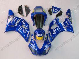 Yamaha YZF-R1 1998-1999 Injection ABS verkleidung - GO!!!!! - Blau
