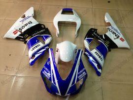 Yamaha YZF-R1 1998-1999 Injection ABS verkleidung - Monster - Blau/Weiß