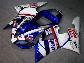 Yamaha YZF-R1 2000-2001 Injection ABS verkleidung - Sterilgarda - Weiß/Blau