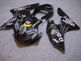 Yamaha YZF-R1 2000-2001 Injection ABS Race verkleidung - GO!!!!! - Schwarz