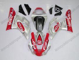 Yamaha YZF-R1 2000-2001 Injection ABS verkleidung - Fortuna - Rot/Silber