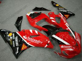 Yamaha YZF-R1 2000-2001 Injection ABS verkleidung - Santander - Rot/Schwarz