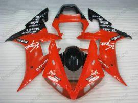 Yamaha YZF-R1 2002-2003 Injection ABS verkleidung - Dunlop - Rot/Schwarz