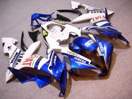 Yamaha YZF-R1 2004-2006 Injection ABS verkleidung - FIAT - Weiß/Blau