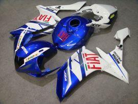 Yamaha YZF-R1 2007-2008 Injection ABS verkleidung - FIAT - Blau/Weiß
