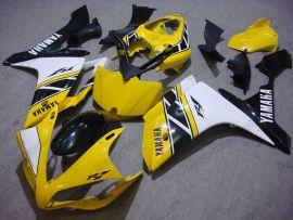 Yamaha YZF-R1 2007-2008 Injection ABS verkleidung - anderen - Gelb/Weiß/Schwarz
