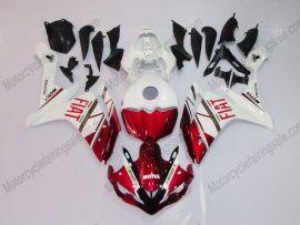 Yamaha YZF-R1 2007-2008 Injection ABS verkleidung - FIAT - Weiß/Rot
