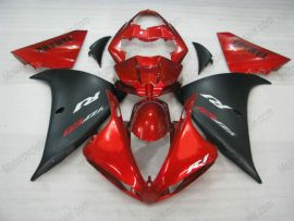 Yamaha YZF-R1 2009-2012 Injection ABS verkleidung - anderen - Rot/Schwarz