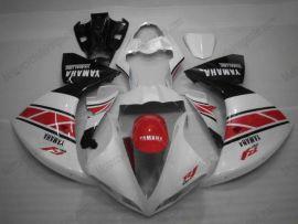 Yamaha YZF-R1 2009-2012 Injection ABS verkleidung - anderen - Weiß/Rot/Schwarz