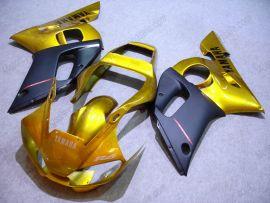 Yamaha YZF-R6 1998-2002 Injection ABS verkleidung - anderen - Golden/Schwarz