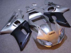Yamaha YZF-R6 1998-2002 Injection ABS verkleidung - anderen - Silber/Schwarz