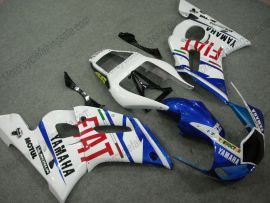 Yamaha YZF-R6 1998-2002 Injection ABS verkleidung - FIAT - Blau/Weiß