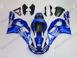 Yamaha YZF-R6 1998-2002 Injection ABS verkleidung - Go!!!!! - Blau