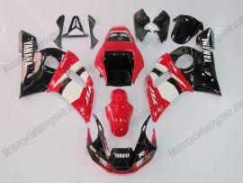 Yamaha YZF-R6 1998-2002 Injection ABS verkleidung - anderen - Schwarz/Rot/Weiß