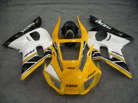 Yamaha YZF-R6 1998-2002 Injection ABS verkleidung - anderen - Gelb/Schwarz/Weiß