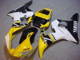 Yamaha YZF-R6 2003-2004 Injection ABS verkleidung - Motul - Gelb/Schwarz/Weiß