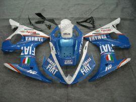 Yamaha YZF-R6 2003-2004 Injection ABS verkleidung - FIAT - Blau/Weiß