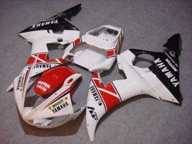 Yamaha YZF-R6 2003-2004 Injection ABS verkleidung - Motul - Weiß/Rot/Schwarz