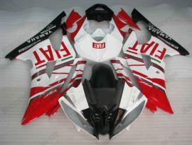 Yamaha YZF-R6 2008-2014 Injection ABS verkleidung - FIAT - Rot/Weiß/Schwarz