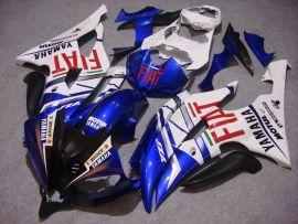 Yamaha YZF-R6 2008-2014 Injection ABS verkleidung - FIAT - Weiß/Blau