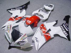 Yamaha YZF-R6 2008-2014 Injection ABS verkleidung - Motul - Weiß/Rot/Schwarz