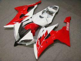 Yamaha YZF-R6 2008-2014 Injection ABS verkleidung - anderen - Rot/Weiß