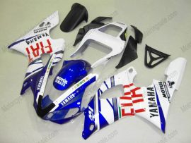 Yamaha YZF-R1 2000-2001 Injection ABS verkleidung - FIAT - Blau/Weiß