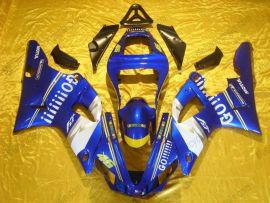 Yamaha YZF-R1 2000-2001 Injection ABS verkleidung - GO!!!!! - Blau/Weiß