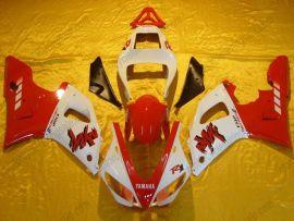Yamaha YZF-R1 2000-2001 Injection ABS verkleidung - anderen - Rot/Weiß