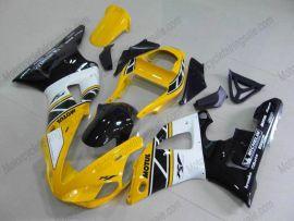 Yamaha YZF-R1 2000-2001 Injection ABS verkleidung - anderen - Gelb/Schwarz/Weiß