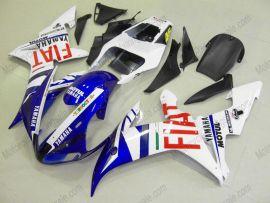 Yamaha YZF-R1 2002-2003 Injection ABS verkleidung - FIAT - Weiß/Blau