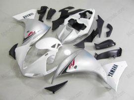 Yamaha YZF-R1 2009-2011 Injection ABS verkleidung - anderen - Weiß/Silber