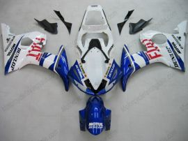 Yamaha YZF-R6 2005 Injection ABS verkleidung - FIAT - Blau/Weiß