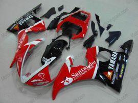 Yamaha YZF-R6 2005 Injection ABS verkleidung - Santander - Rot/Schwarz