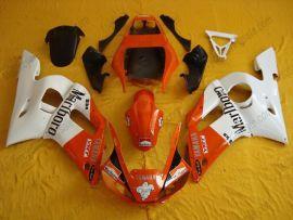 Yamaha YZF-R6 1998-2002 Injection ABS verkleidung - anderen - Weiß/Orange