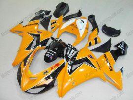 Kawasaki NINJA ZX10R 2006-2007 Injection ABS verkleidung - anderen - Orange/Schwarz
