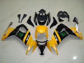 Kawasaki NINJA ZX10R 2008-2010 Injection ABS verkleidung - Monster - Gelb/Schwarz