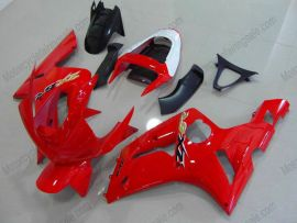 Kawasaki NINJA ZX6R 2003-2004 Injection ABS verkleidung - anderen - alle Rot