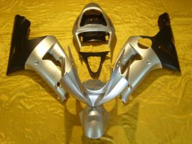 Kawasaki NINJA ZX6R 2003-2004 Injection ABS verkleidung - anderen - Silber/Schwarz