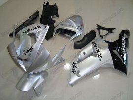 Kawasaki NINJA ZX6R 2003-2004 Injection ABS verkleidung - anderen - Schwarz/Silber