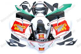 Honda CBR1000RR 2004-2005 Injection ABS verkleidung - San Carlo - Weiß/Schwarz/Rot