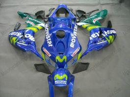 Honda CBR1000RR 2006-2007 Injection ABS verkleidung - Movistar - Blau