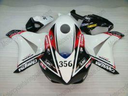 Honda CBR1000RR 2008-2011 Injection ABS verkleidung - Lee - Weiß/Schwarz/Rot