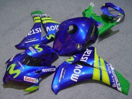 Honda CBR1000RR 2008-2011 Injection ABS verkleidung - Movistar - Blau