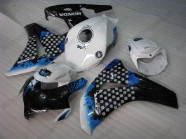 Honda CBR1000RR 2008-2011 Injection ABS verkleidung - anderen - Schwarz/Weiß/Blau